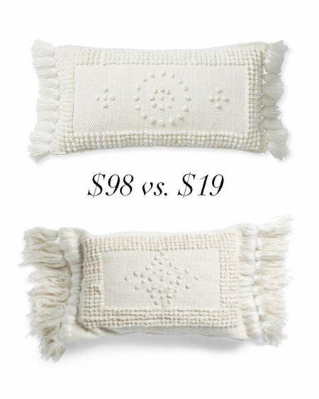 Serena & Lily Serena and Lily Home Decor Throw pillows Spring decor TJ Maxx  http://liketk.it/37H7G #liketkit @liketoknow.it #LTKhome #LTKsalealert #LTKunder50