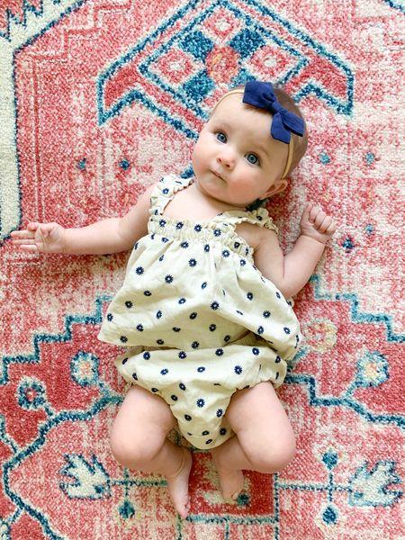 Baby girl summer outfit  #LTKbaby #LTKkids #LTKunder50