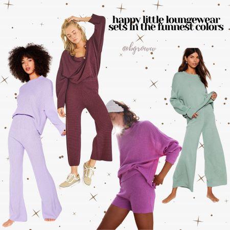 Spring 2021 trends! Comfy loungewear in happy colors!   http://liketk.it/38M8A #liketkit @liketoknow.it #LTKunder100 #LTKSeasonal #StayHomeWithLTK