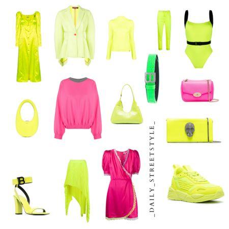 Neon trend 2021 #neon #trend #fashion You can instantly shop all of my looks by following me on the LIKEtoKNOW.it shopping app http://liketk.it/3eXUp #liketkit @liketoknow.it #LTKfit #LTKstyletip #LTKsalealert