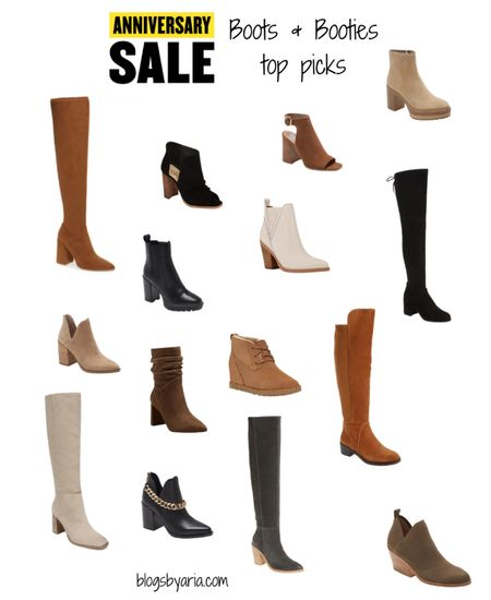 Nordstrom Anniversary Sale boots and booties top picks #nsale fall fashion fall boots over the knee boots   #LTKshoecrush #LTKsalealert #LTKstyletip