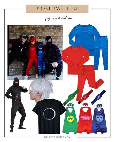 DIY Costumes Halloween Costumes Family Costumes Amazon Prime  Amazon Costumes Last Minute Costumes  Halloween  Pj masks   #LTKfamily #LTKkids #LTKSeasonal