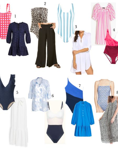 Eight cute swimsuits and swim coverups for Summer! One pieces that flatter and are fun 💗 http://liketk.it/2SrYa #liketkit @liketoknow.it #LTKswim #LTKunder100 #LTKunder50