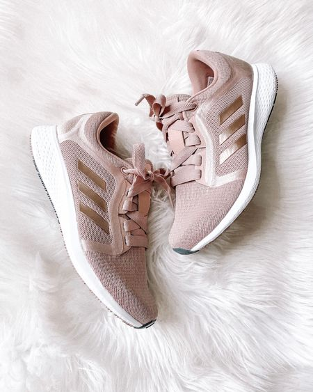 Love these adidas sneakers from the #NSALE! I always go down 1/2 a size in adidas. The blush color is so pretty! #liketkit #nordstromsale #anniversarysale #fitness #adidas  #LTKsalealert #LTKshoecrush #LTKunder100