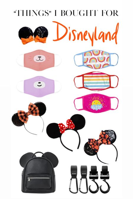 """""""things"""" that I bought for Disneyland!"""