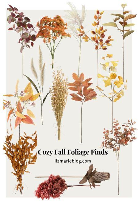 Cozy Fall Foliage to add to your decor!  #LTKhome #LTKSeasonal