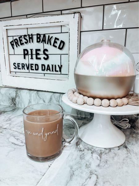 Nothing like a good cup of coffee in the morning! #target #targetfinds #targethome #homedecor #kitchendecor  #LTKhome #LTKfamily #LTKsalealert