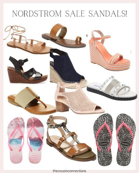 Nordstrom sale sandals! The best flip flops, wedges, and chic shoes for the summer 🤩  Summer fashion  Summer sandals  Wedding guest shoes     #LTKunder50 #LTKSeasonal #LTKsalealert