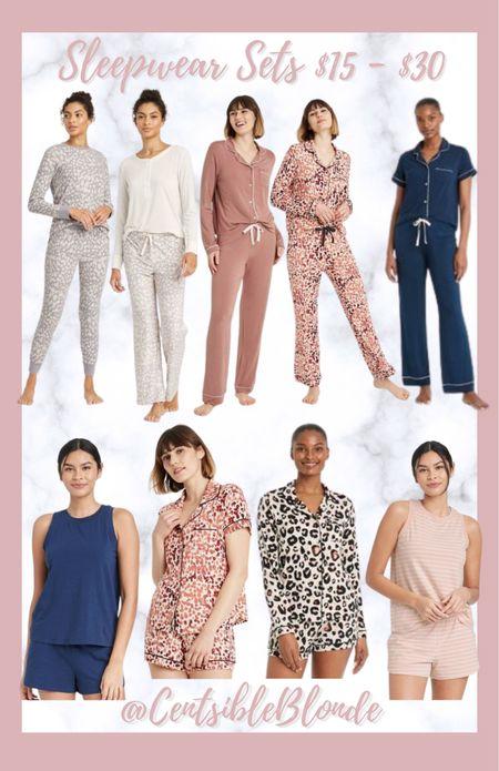 Pajama sets Sleepwear sets under $30   #LTKstyletip #LTKhome #LTKunder50