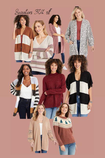 Sweaters and cardigans 30% off  Christmas sweater   #LTKunder50 #LTKstyletip #LTKsalealert