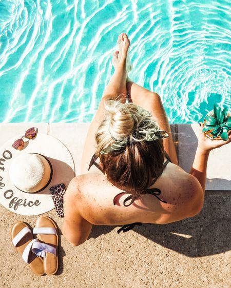 Poolside essentials ☀️ 💦 👒 🍹 http://liketk.it/3hZNP #liketkit @liketoknow.it