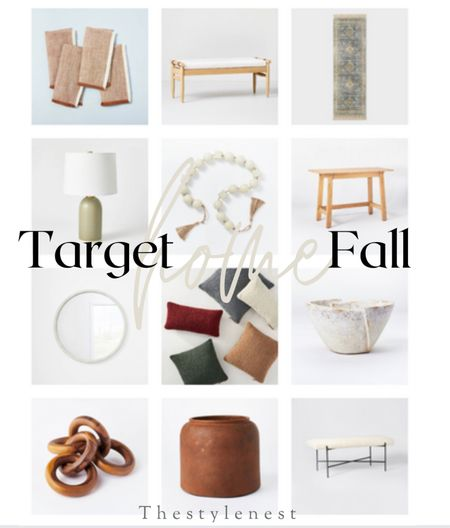 Target New Arrivals for Fall #home #homedecor #target #targethome #ltkhome #studiomcgee #fallfinds #fallhomedecor   #LTKSeasonal #LTKfamily #LTKhome