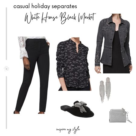 Casual holiday elegance from WHBM. The 35th annilversary ruched sleeve blouse affirms 'Inspire, Dream, Create'. Complete your look with one piece, or create a striking style with all. @liketoknow.it #LTKstyletip #whitehouseblackmarket #fashionover50 #separates #holiday #inspiremystyle #liketkit http://liketk.it/32WbC