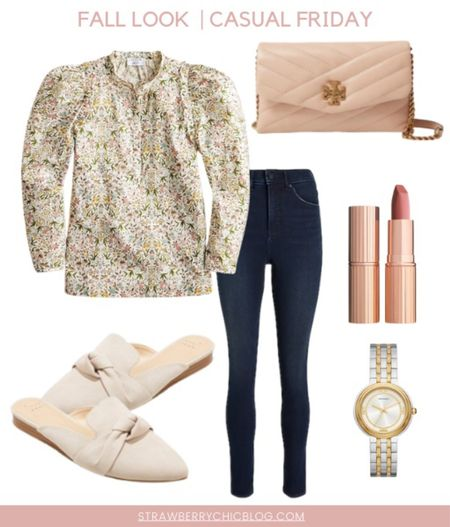 Fall Casual Friday outfit idea perfect for a any activities or panned. Comfortable. Adorable and can easily be dressed up with some heels.   #LTKSeasonal #LTKstyletip