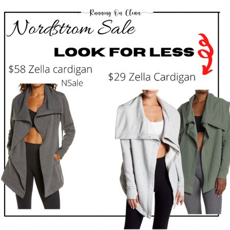 Look a like Zella wrap cardigan   #LTKunder50 #LTKstyletip