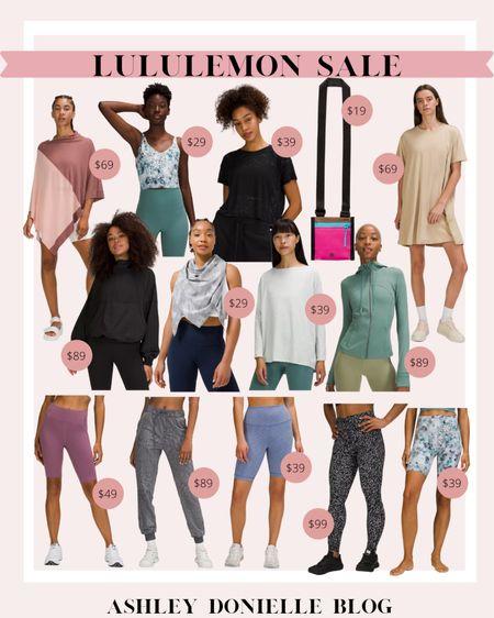 Lululemon sale - leggings, bike shorts, jacket!   #LTKstyletip #LTKunder100 #LTKsalealert