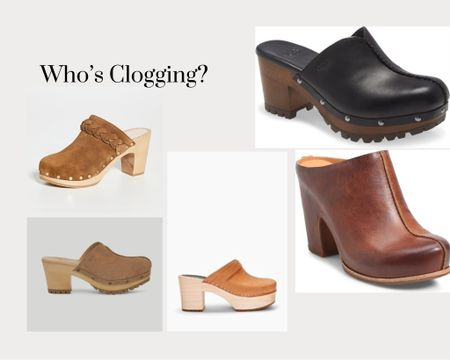 Who's loving clogs? I don't believe  went out of style. But glad they are back in style.  #LTKshoecrush #LTKstyletip #LTKworkwear
