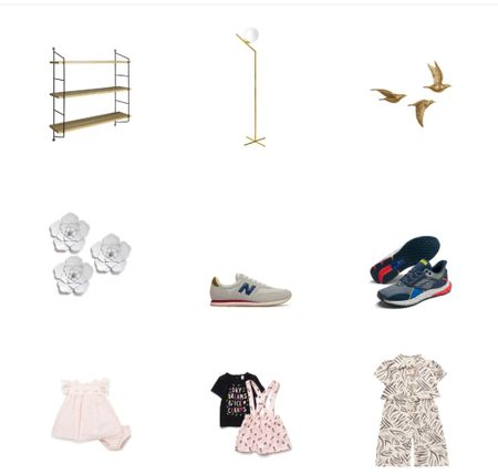 Gold wall accents/gold lamp/book Shein/flower wall accents/men's running shoes/kids/toddler clothing/under $50/under30  #LTKkids #LTKSeasonal #LTKVDay