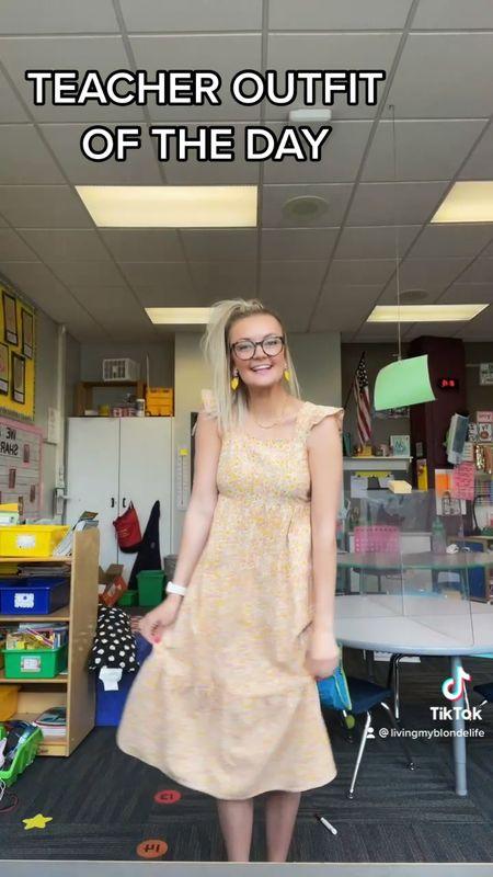 Midi dresses are my current fav spring trend! Perfect for work!   #LTKworkwear #LTKunder100 #LTKtravel