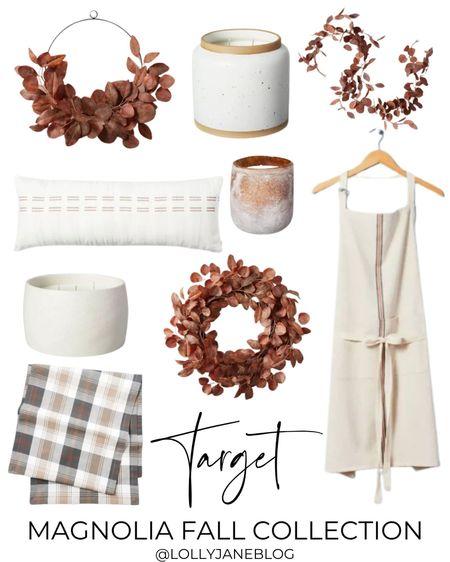 Target fall magnolia collection!!  Lolly Jane Blog | #LollyJaneBlog   #LTKhome #LTKunder50 #LTKunder100
