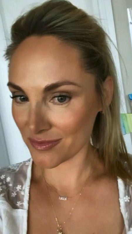 ✨5 minute bronzed summer makeup look ✨ My concealer, cc cream, eyeshadow palette, and lip sticks seen here are all part on the #ltkday sale!   Concealer: light neutral Cc cream: medium Bronzer & airbrush powder # two Eyeshadow palette: In Bloom Blush: ecstasy Juicy lip: rose YSL lip: 09 nude sheer   http://liketk.it/3hrc2 #liketkit @liketoknow.it   #LTKunder50 #LTKbeauty #LTKsalealert