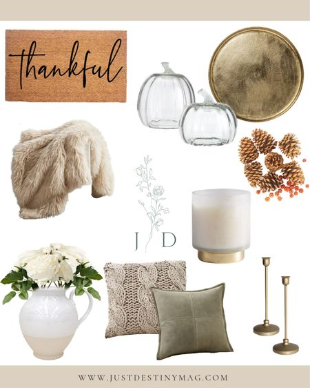 Simple ways to bring fall into your home. 🍂  #fall #autumn #homedecor #livingroom   #LTKstyletip #LTKSeasonal #LTKhome