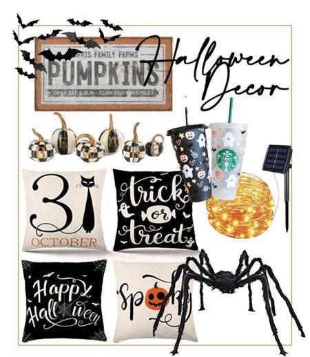 DIY Halloween // Halloween decor   #LTKSeasonal #LTKunder50 #LTKhome