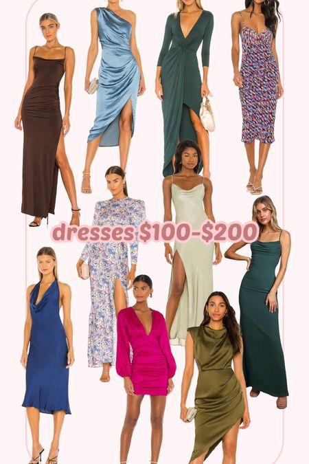 Dresses $100-200! Hope you find some good ones!   #LTKwedding #LTKSeasonal