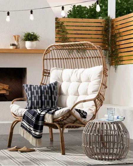 Egg chair http://liketk.it/3gCVx #liketkit @liketoknow.it #LTKDay #LTKhome #LTKsalealert @liketoknow.it.home You can instantly shop my looks by following me on the LIKEtoKNOW.it shopping app