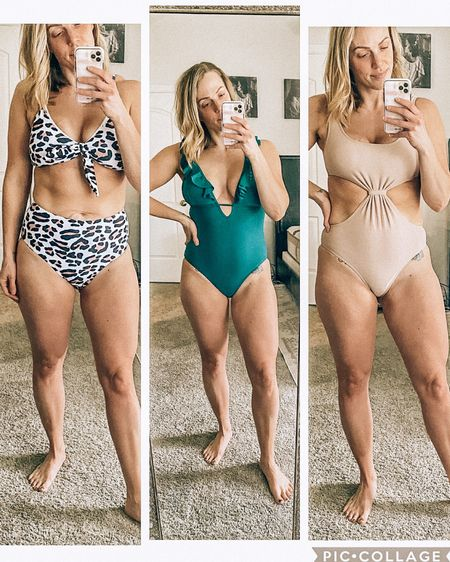 Done with these winter/spring weather changes and ready for some warmer days!  Sharing some new swimmies from Amazon in my stories that were (mostly) BIG wins, and between $17-$35.   http://liketk.it/2KgfA #liketkit @liketoknow.it #LTKswim #LTKunder50