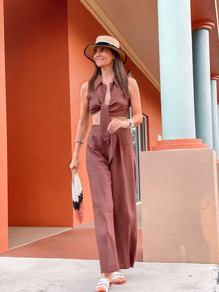 Brown tones 🤎✨ Happy new week 😗 Details of this outfit 👉🏼 via @shop.ltk app 📲 #ootd #summeroutfit #sofrenchbynaty    #LTKSeasonal #LTKbacktoschool #LTKeurope