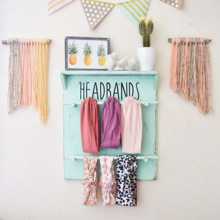 Girl nursery headband display   Walmart home, target home, cleaning, clean home, dream home, under 50, daily deals, 5 stars, amazon finds, amazon deals, daily deals, deal of the day, dotd, bohemian, farmhouse decor, farmhouse, living room, master bedroom, door room, loft, nursery decor, nursery ideas   💕Follow for more daily deals, home decor, and style inspiration 💕  #LTKkids #LTKstyletip #LTKbaby