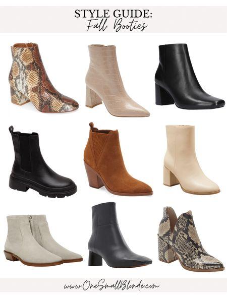 Fall booties 🖤  #LTKunder100 #LTKshoecrush #LTKSeasonal