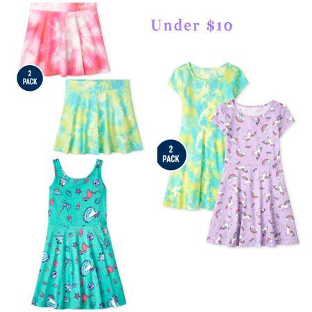 Summer outfit. Girls dresses. Tie dye. Sale alert. Under 10.   #LTKsalealert #LTKkids #LTKunder50