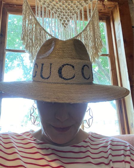 #strawhats for #4thofjuly 👉 http://liketk.it/3iXgo or Shop your screenshot of this pic with the LIKEtoKNOW.it shopping app #LTKunder100 #LTKhome #LTKstyletip #strawhat #hatstyle #gucciheqdband #summerstyle #liketkit @liketoknow.it #amazonfashion #amazonfinds