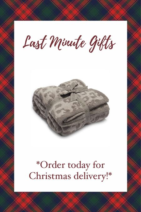LAST MINUTE CHRISTMAS GIFT IDEAS! Order TODAY for guaranteed Christmas delivery! Barefoot dreams blankets make the BEST gifts! I have one & im obsessed! Gift guide— gift guide for her— Nordstrom gift guide #liketkit #LTKgiftspo @liketoknow.it http://liketk.it/34fhW