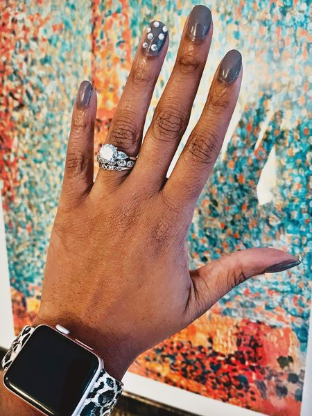 http://liketk.it/37Cnn Do you own nails. It's is simple, easy and affordable nails💅🏾 #liketkit @liketoknow.it Shop my daily looks by following me on the LIKEtoKNOW.it shopping app #LTKVDay #LTKunder50 #LTKbeauty