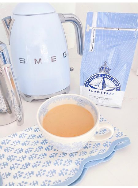 amazon coffee that I'm loving lately ☕️  The Smeg mini kettle is on sale right now!  #LTKsalealert #LTKwedding #LTKhome