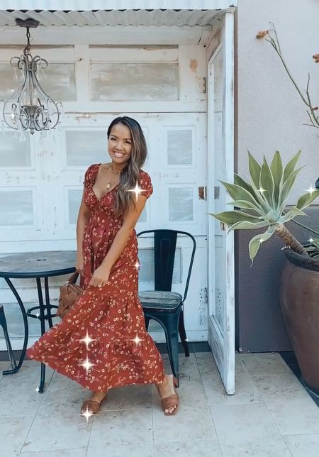 This gorgeous floral maxi dress is on sale for under $29.99! Wearing size XS. Petite and nursing friendly #LTKSale   #LTKstyletip #LTKunder50