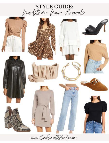 Nordstrom new arrivals for fall outfits 🖤🍁🍂   #LTKSeasonal #LTKstyletip #LTKunder100