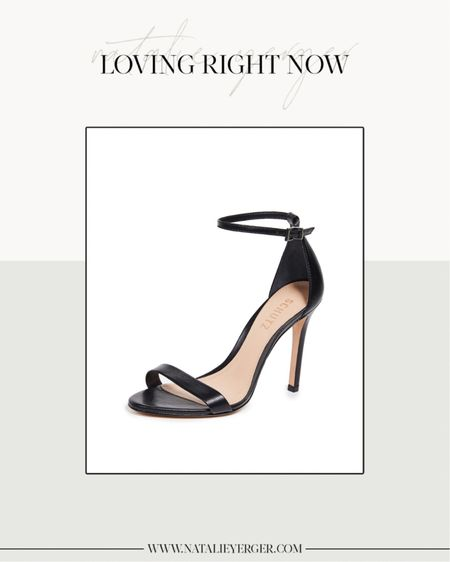 Black Heels, Black Heeled Sandals, Black Pumps, Black Ankle Strap Heels  A Stuart Weitzman nudistsong dupe! Much more comfortable and run true to size.