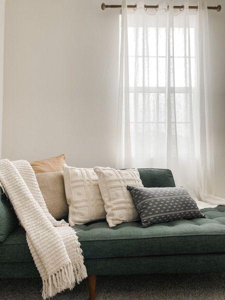 Pillows  - home decor - neutrals - muted tones   #LTKunder50 #LTKfamily #LTKSeasonal