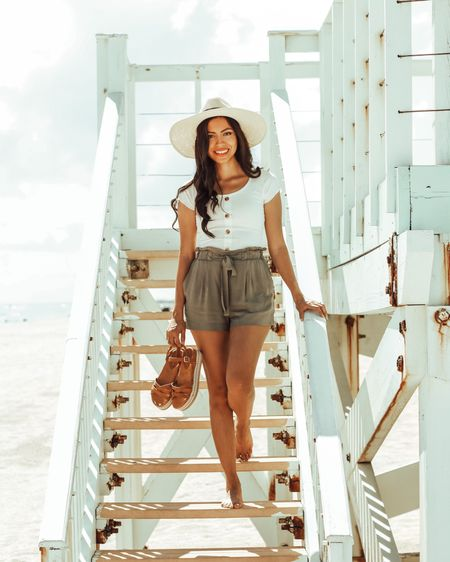 Getting Spring started in my favorite straw hat 👒 and shorts 🌸  . . Details linked in the @liketoknow.it app or through the link in my bio http://liketk.it/3c1wJ   #liketkit #LTKstyletip #LTKSpringSale #LTKunder50 #casuallooks #stylereport  #fashiontips #igstyle #instafashionist #instalookbook #styleshare #whowhatwearing #summerstyle #affordablestyle #realoutfit #miamiblogger #miamistyle #miamilife #everydaystyle #stylishmom #estilosa #fashionfix #rewardstyle #wiwn #microinfluencer #americanstyle #dressmeforless #ropamujeres