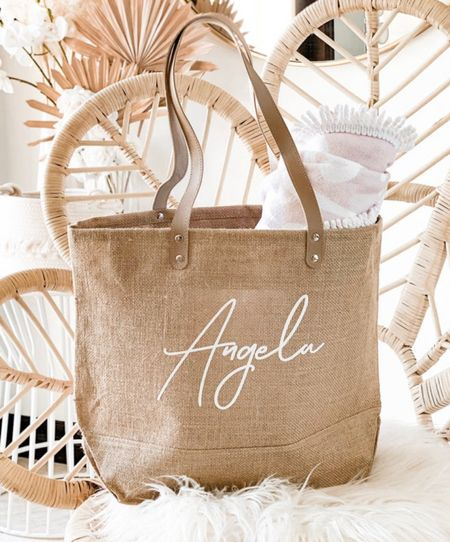 Personalized bag for the whole bride tribe ⚡️  #LTKsalealert #LTKwedding #LTKunder50