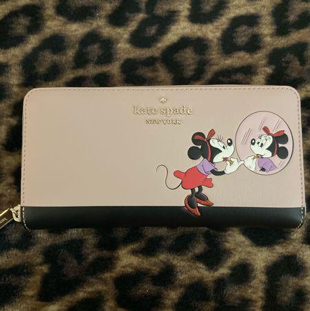 My new wallet is too cute 🥰🥰 // kate spade x disney continental wallet . Perfect for any disney fan and currently on sale!   Kate spade disney wallet // kate spade   #LTKsalealert #LTKstyletip