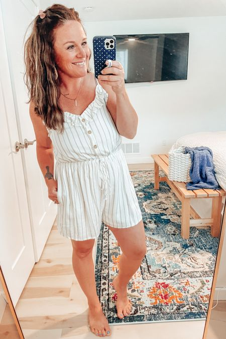 Perfect summer day for this adorable romper! Still loving these mermaid waves too! Check out #pinklily for some great sales today! http://liketk.it/3jot2 #liketkit #LTKsalealert #LTKunder50 #LTKunder100 @liketoknow.it