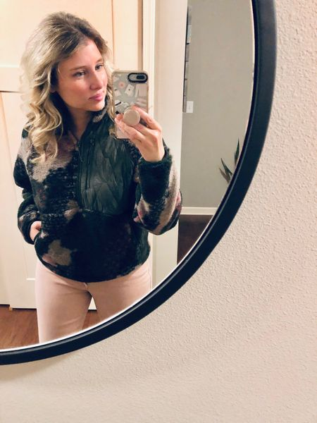 Greetings!! I've been MIA for awhile and just wanted to show my face so you all knew I'm still around. 💕 Sharing my favorite new JoyLab fleece from Target. It's cropped and it does run small in my opinion. I've wore it several times with jeans but it would also look great with leggings. Hope everyone is enjoying their Sunday.  • • Link to Shop in profile- http://liketk.it/35BPF   #liketkit @liketoknow.it  • • Shop my daily looks by following me on the LIKEtoKNOW.it shopping app  • •  #LTKcurves #LTKfit #LTKstyletip