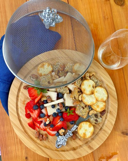 Making the most of these beautiful quarantine summer nights! This plate is on repeat everyday at 5 o'clock 🥂 Find your favorite board (linked a few good ones!) cheese and crackers—I love this rosemary Asiago cheese with rosemary raisin crackers— some mixed nuts and then fresh berries to make sure there is something for the little hands too! http://liketk.it/2VvzI #liketkit @liketoknow.it #StayHomeWithLTK #LTKhome Follow me on the LIKEtoKNOW.it shopping app to get the product details