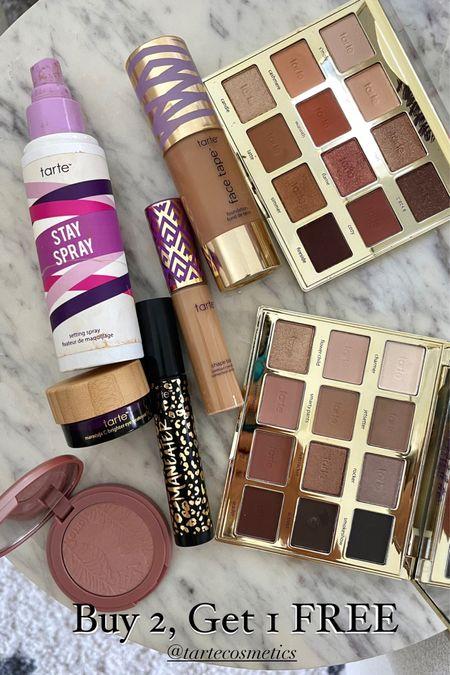 Tarte buy 2 get 1 free sale use code FREE   #LTKbeauty #LTKsalealert #LTKunder50