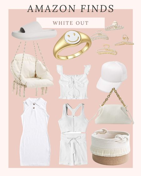 Amazon white out #swimwear #activewear #activewearset #athleisure #bag #sandal #sneakers #slide #summershoes #stevemadden #nike #lulus #adidas #bikeshorts #shorts #whitesneakers #summeroutfits #amazonfashion #outfitideas #dresses | cute sneakers | womens activewear | cute activewear | fitness | fit | weightloss | gym wear | gym outfits | workout outfits | travel | airport | travel outfit | airport outfit | comfy | casual | target | target style | amazon | amazon fashion | amazon finds | amazon clothes | outfits | ootd | outfit inspo | summer outfit | summer style | new finds | trend | flat sandals | pool slides | comfy shoes | leggings | cropped leggings | capris | running shorts | bike shorts | cute shorts | denim shorts | casual shorts | date night outfit | vacation outfit | loungewear | loungewear set | pjs | pajamas | matching set | two piece set | coords | sweatpants | joggers | sweatshirt | Crewneck | workout top | activewear top | tank top | crop top | sports bra | longline sports bra | tshirt | graphic tee |band tee | graphic tees | graphic sweatshirts | tie dye | floral | animal print | cheetah print | 4th of July | beach outfit | beach finds | swim | swimsuit | bikini | two piece | high waisted | one piece | cover up | bathing suit | cozy | slippers | Abercrombie | American Eagle | Lululemon | lulus | nasty gal | Nike | Nordstrom | dresses | wedding guest dress | apl | revolve | home decor | organization | home | make up | skincare http://liketk.it/3jiTG  @liketoknow.it #liketkit #LTKswim #LTKtravel #LTKstyletip